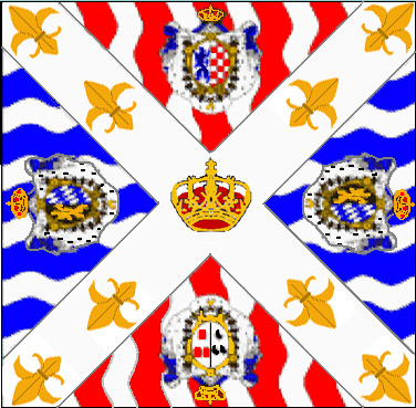 drapeau royal deux ponts